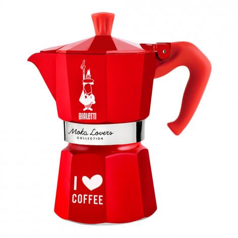 "Espressokocher Bialetti ""Moka Lovers 6–cup Red"""