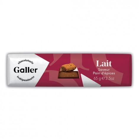 """Šokolādes batoniņš Galler """"Lait Pain D'Epices"""", 65 g"""