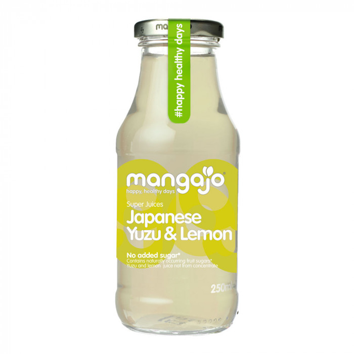 "Virvoitusjuoma Mangajo ""Japanese Yuzu & Lemon Tea"", 250 ml"