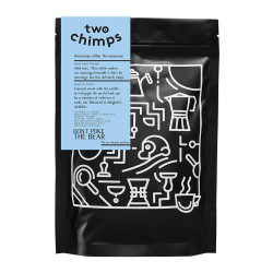 "Coffee beans Two Chimps ""Don't Poke the Bear"", 250 g"