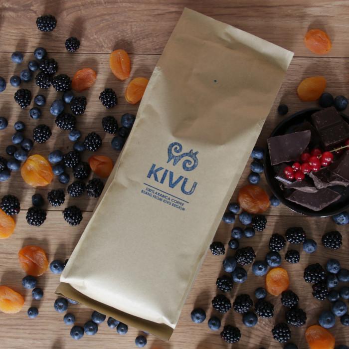 """Kawa ziarnista Przyjaciele Kawy """"Kivu"""", 1 kg"""