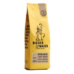 """Kaffeebohnen Bieder & Maier """"ORGANIC LIGHT ROAST"""", 250 g"""