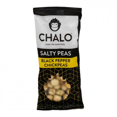 """Słona przekąska z fasoli Chalo """"Black Pepper Chickpeas"""", 40 g"""