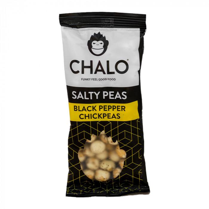 """Kikerherne snäkk Chalo """"Black Pepper Chickpeas"""", 40 g"""