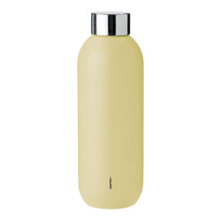"Wasserflasche Stelton ""Keep Cool Soft Yellow"", 0,6 l"