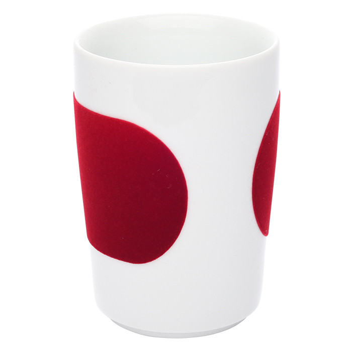 "Tasse Kahla ""Five Senses touch! Red"", 350 ml"