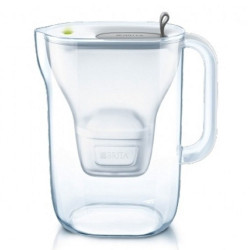 Кувшин для фильтрации воды Brita «Style LED4W Mx+ Grey», 2400 мл