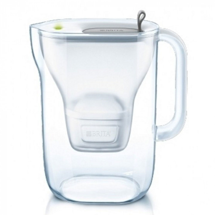 "Vedensuodatin kannu Brita ""Style LED4W Mx+ Grey"", 2400 ml"