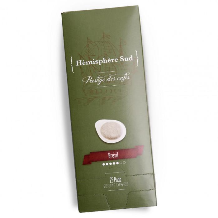 """Coffee pods Hémisphère Sud """"Brésil"""", 25 pcs."""