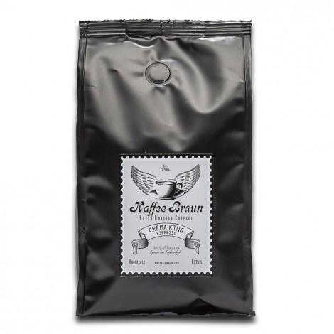 """Kaffeebohnen Kaffee Braun """"Crema King Espresso"""", 500 g"""