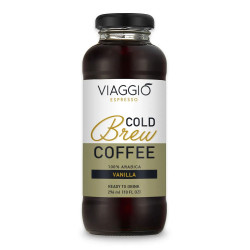 "Cold brew coffee Viaggio Espresso ""Cold Brew Vanilla"", 296 ml"