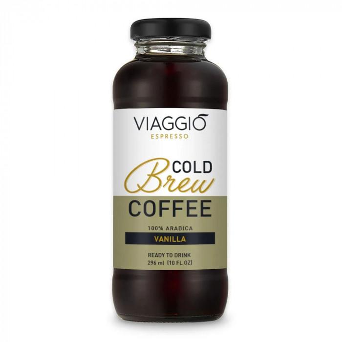 """Aukstā kafija Viaggio Espresso """"Cold Brew Vanilla"""", 296 ml"""