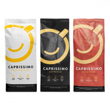 "Set koffiebonen ""Caprissimo Trio Mix"", 3 kg"