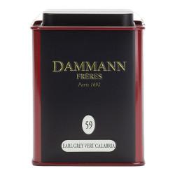 "Arbata Dammann Frères ""Earl Grey Vert Calabria"", 100 g"