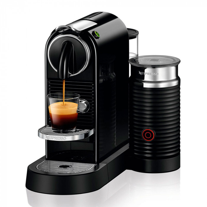 "Coffee machine Nespresso ""Citiz & Milk Black"""
