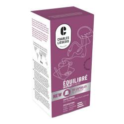 """Kafijas kapsulas Nespresso® automātiem Charles Liégeois """"Équilibré"""", 20 gab."""