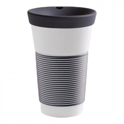 "Mug with a lid Kahla ""Cupit To Go Soft Black"", 470 ml"