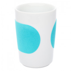 "Cup Kahla ""Five Senses touch! Turquoise"", 350 ml"