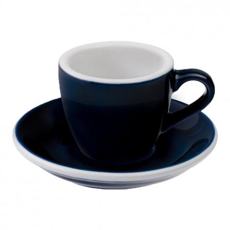 """Espresso krūzīte ar apakštasīti """"Egg Denim"""", 80 ml"""