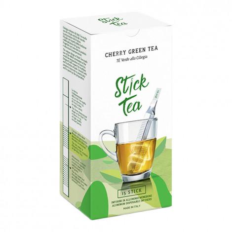 "Green tea with cherries Stick Tea ""Cherry Green Tea"", 15 pcs."