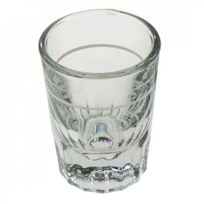 "60 ml ""shot"" glāze ar iedaļām (1 gab.)"