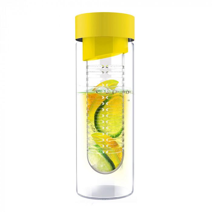 "Ūdens pudele Asobu ""Flavour it Yellow"", 480 ml"