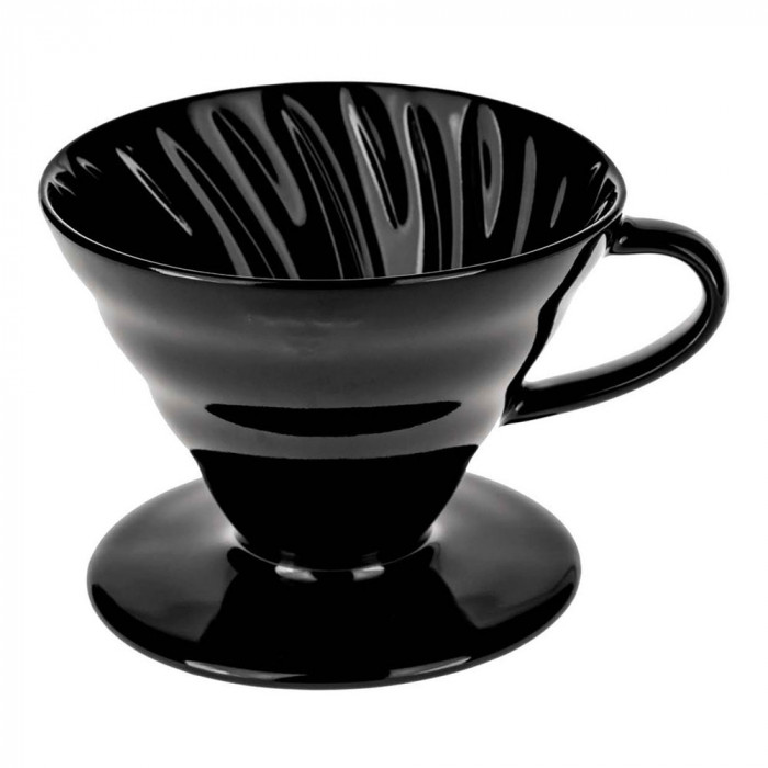 "Ceramic coffee dripper Hario ""V60-02 Black"""