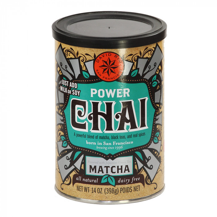 "Instant tea David Rio ""Power Chai"" with matcha green tea, 398 g"