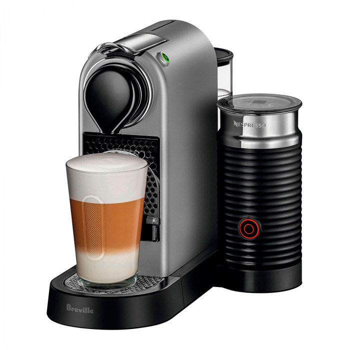 "Coffee machine Nespresso ""Citiz & Milk Silver"""