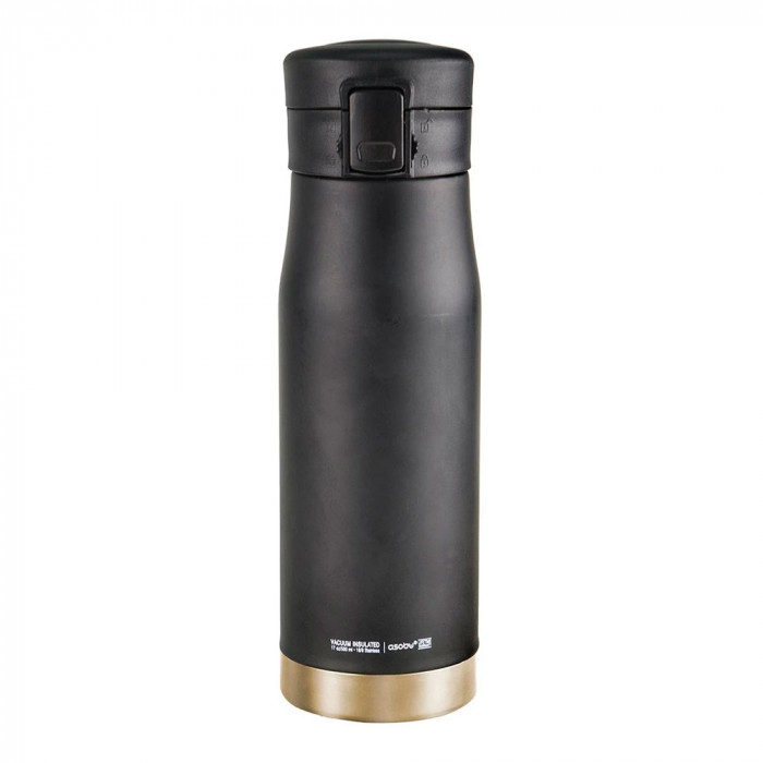"Termospudel Asobu ""Liberty Canteen Black/Gold"", 500 ml"
