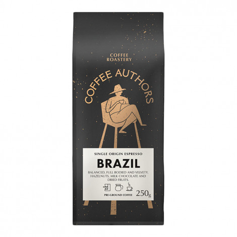 "Ground coffee Kalve ""Coffee Authors"" Brazil 250g"
