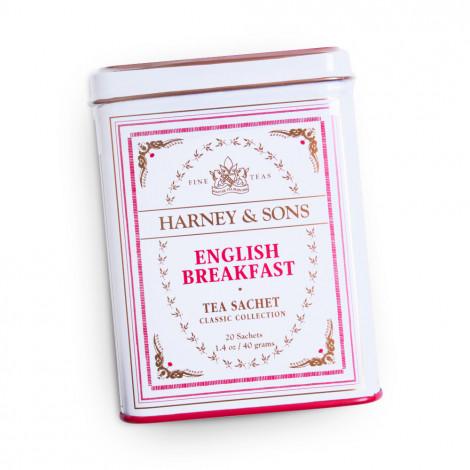 "Melnā tēja Harney & Sons ""English Breakfast"", 20 gab."