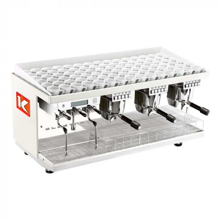 "Coffee machine Elektra ""Kup Ice White"" three groups"