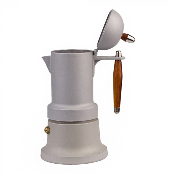 "Moka kavavirė G.A.T. ""Minni Plus Grey"", 3 puodeliams"