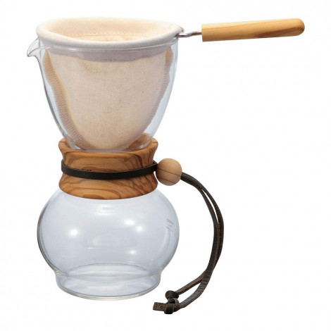 "Kafijas pagatavotājs Hario ""Olive Wood"", 480 ml"