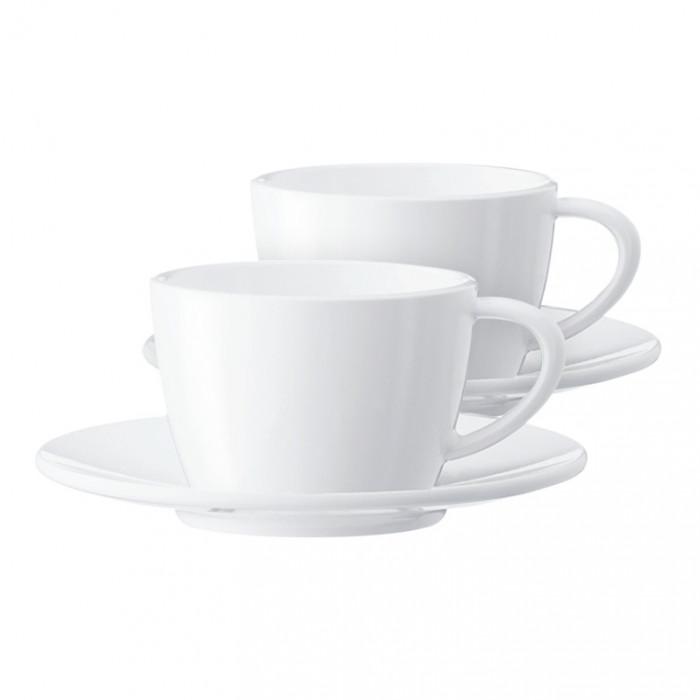 Cappuccino tasīte ar apakštasīti Jura, 2 gab.