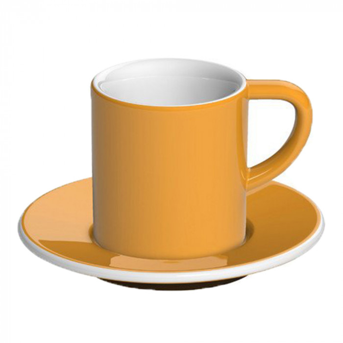"Espresso cup with a saucer Loveramics ""Bond Yellow"", 80 ml"