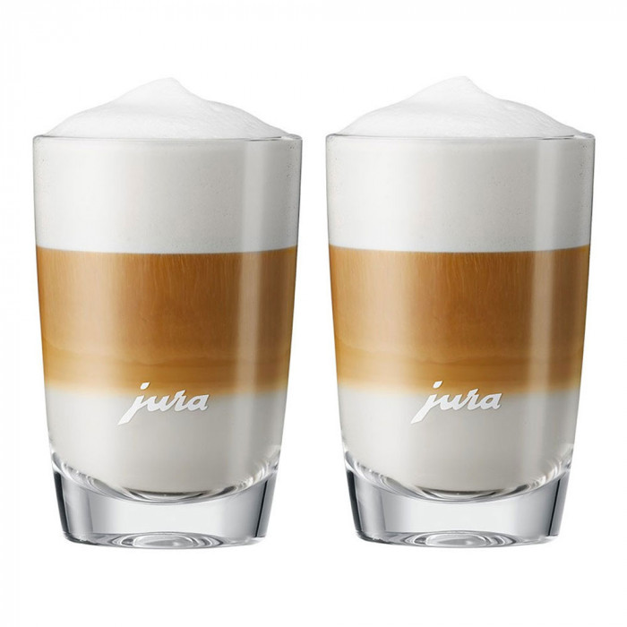 Szklanki do Latte macchiato Jura, 220 ml, 2 szt.