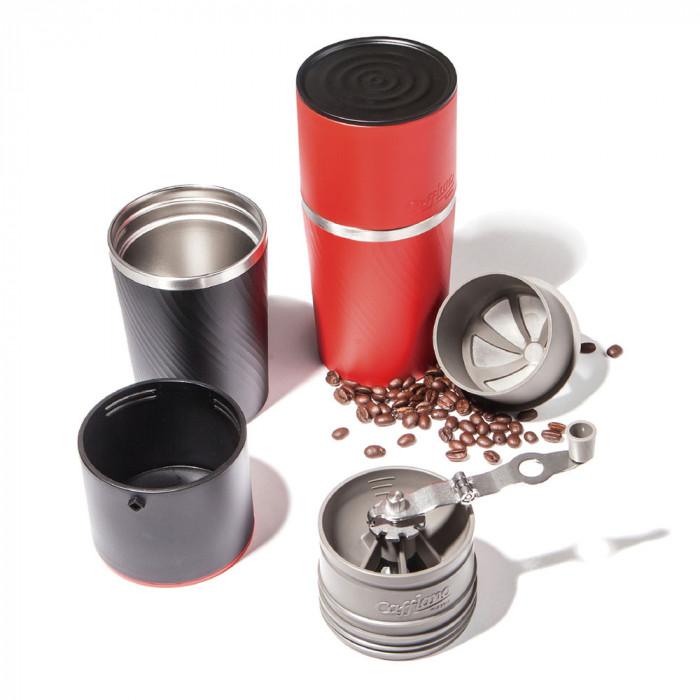 """Ekspres do kawy Cafflano """"Klassic Coffee Red"""""""
