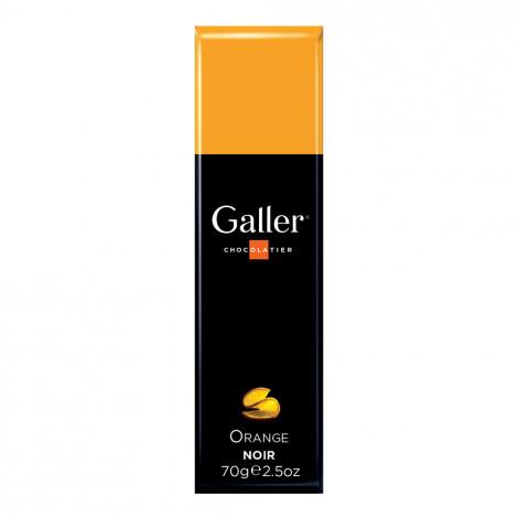 """Suklaapatukka Galler """"Dark Orange"""", 70 g"""