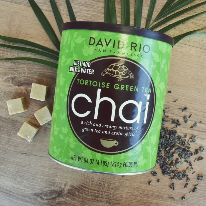 "Roheline chai tee David Rio ""TORTOISE GREEN TEA"""