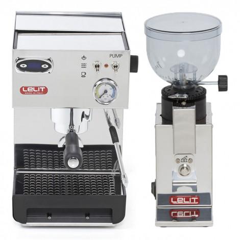 """Set koffiezetapparaat Lelit """"PL41TEM + PL043MMI"""""""