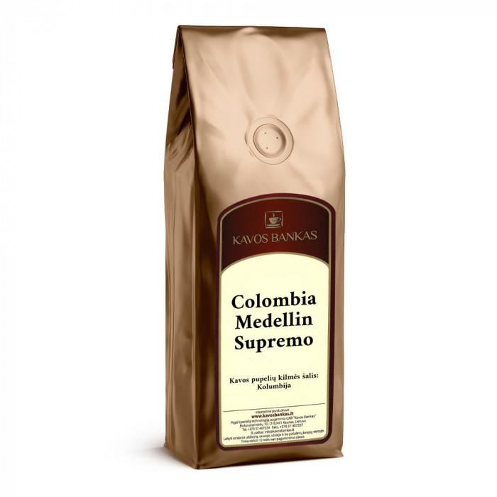 "Jauhettu kahvi Kavos Bankas ""Colombia Medellin Supremo"", 250 g"