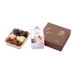 """Cukierki czekoladowe z migdałami i żurawiną Laurence """"Golden Choco Bites"""", 140 g"""