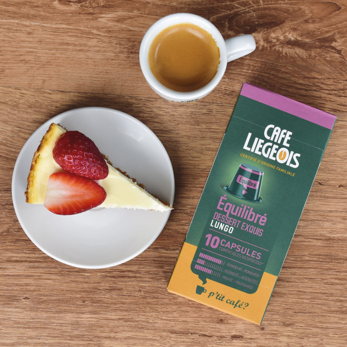 "Coffee capsules Café Liegeois ""Equilibre"""