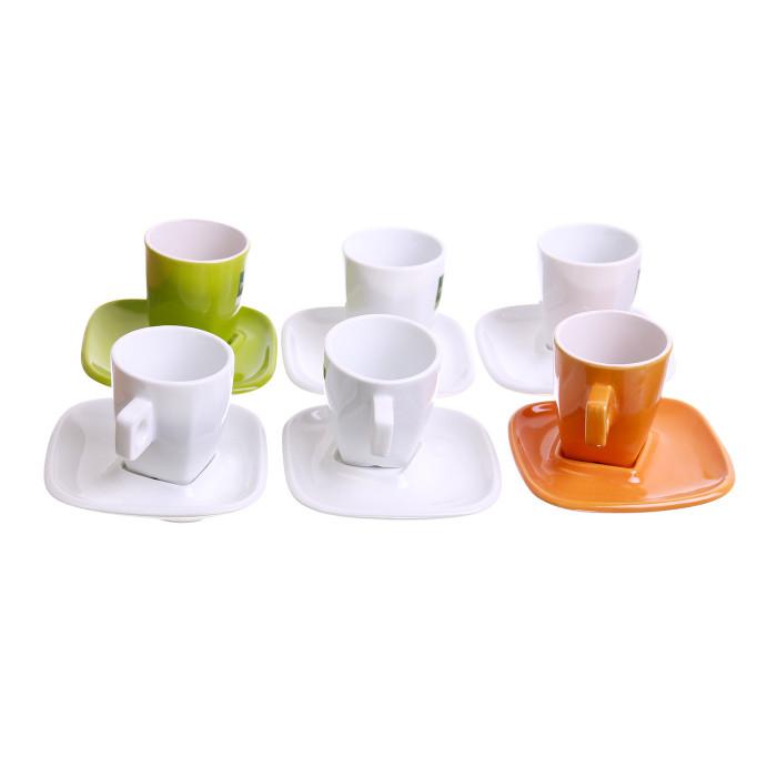 "Espresso puodeliai Café Liégeois ""Espresso"", 80 ml, 6 vnt."