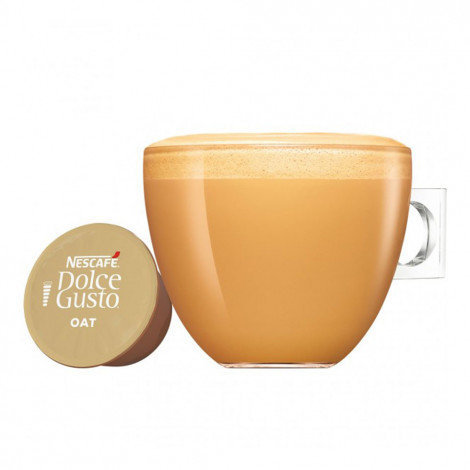 """Coffee capsules compatible with Dolce Gusto® NESCAFÉ Dolce Gusto """"Oat Flat White"""", 12 pcs."""