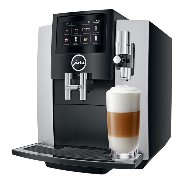 "Coffee machine Jura ""S8 Moonlight Silver"""