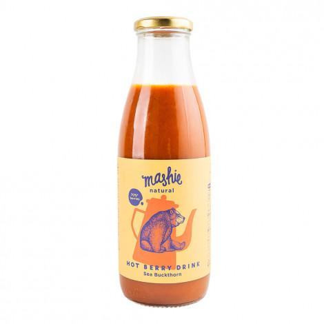 """Šaltalankių uogų tyrė """"Mashie by Nordic Berry"""", 750 ml"""