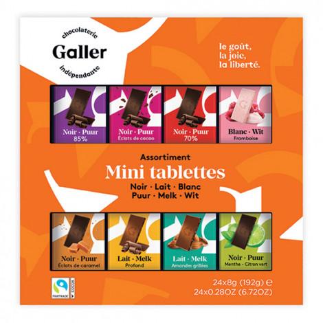 """Zestaw czekoladek Galler """"Mini Tablets Collection"""", 24 szt."""
